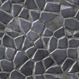 Предпосылка каменной металлической мостоваой безшовная произведенная Стоковое Изображение RF