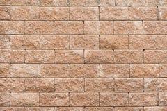 Предпосылка каменной стены Laterite Стоковые Фотографии RF