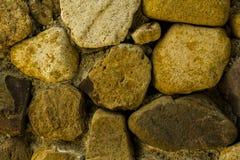 Предпосылка каменных стен Стоковое Изображение