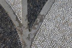 Предпосылка камешка пляжа Стоковые Фото