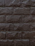 Предпосылка камня темного коричневого цвета Стоковая Фотография RF