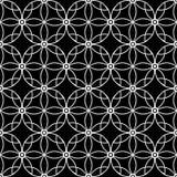 Предпосылка картины абстрактного орнамента безшовная Стоковые Изображения RF