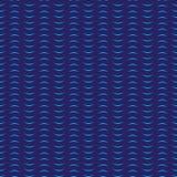 Предпосылка картины волн безшовного aqua вектора запаса голубая Иллюстрация штока