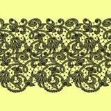 Предпосылка картины ленты шнурка безшовная Стоковые Изображения RF