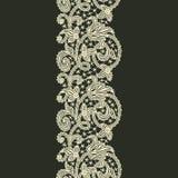 Предпосылка картины ленты шнурка безшовная Стоковое Фото