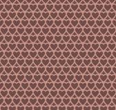 Предпосылка картины дизайна сердца шоколада Стоковые Изображения