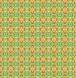 Предпосылка картины искусства кактуса безшовная Стоковые Фотографии RF