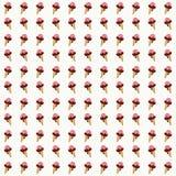 Предпосылка картины мороженого безшовная Стоковое Изображение RF
