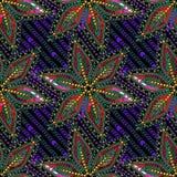 Предпосылка картины пестротканых шариков Sequins вектора безшовная Стоковое Изображение