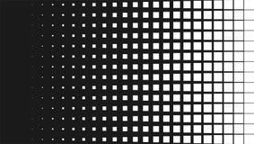 Предпосылка картины полутонового изображения, квадратный график форм пятна, винтажного или ретро иллюстрация вектора