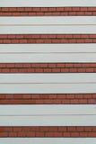 Предпосылка картины стены кирпича и гипсолита Стоковые Фото