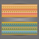 Предпосылка картины с геометрически элементами Стоковые Фотографии RF