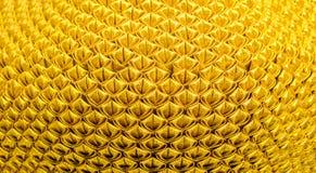 Предпосылка картины текстуры золота Стоковая Фотография