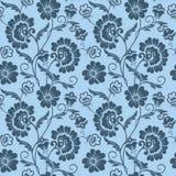 Предпосылка картины цветка вектора безшовная Элегантная текстура для предпосылок Классическое роскошное старомодное флористическо Стоковое Изображение RF