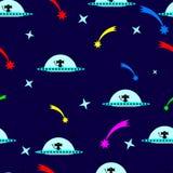 Предпосылка картины чужеземца безшовная Стоковое Изображение RF