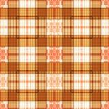 Предпосылка картины шотландки безшовного ретро тартана ткани checkered Стоковая Фотография