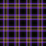 Предпосылка картины шотландки безшовного ретро тартана ткани checkered Стоковое Фото