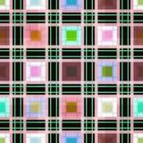 Предпосылка картины шотландки безшовного ретро тартана ткани checkered Стоковые Фотографии RF