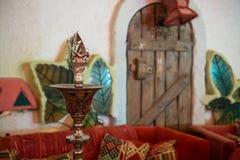 Предпосылка комнаты Shisha Стоковая Фотография RF
