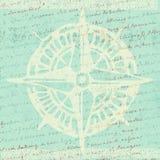 Предпосылка компаса Стоковое Изображение