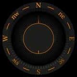 Предпосылка компаса Стоковое Изображение RF