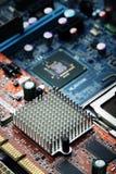 Предпосылка компьютера монтажной платы Стоковое Изображение RF