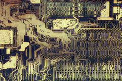 Предпосылка компьютерной микросхемы Стоковые Изображения RF