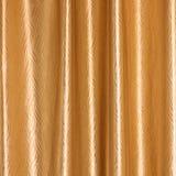 Предпосылка, конец вверх занавеса ткани золота Стоковое Фото