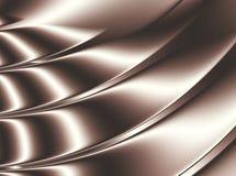 Предпосылка конспекта Брайна показывая стилизованную замороженность шоколада Стоковая Фотография RF