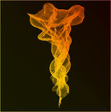 Абстрактная предпосылка дыма Стоковое фото RF