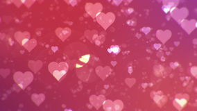 Предпосылка конспекта дня валентинки, loopable акции видеоматериалы