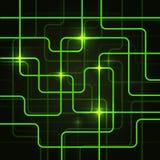 Предпосылка конспекта доски цепи электрическая Стоковые Изображения RF