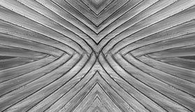 Предпосылка конспекта текстуры заводов банана черно-белая Стоковые Фото