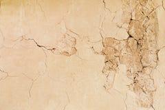 Предпосылка конспекта текстуры стены глины eathern Стоковое Изображение