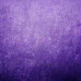 Предпосылка конспекта текстуры Grunge фиолетовая с космосом для текста Стоковые Фотографии RF