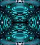 Предпосылка конспекта темы космоса творческая конструкция иллюстрация 3d Стоковое Изображение