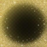 Предпосылка конспекта яркого блеска золота Стоковая Фотография