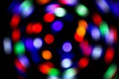Предпосылка конспекта bokeh нерезкости светлая Стоковое Фото