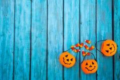 Предпосылка конфеты хеллоуина Стоковые Изображения RF