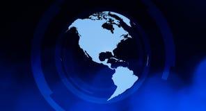 Предпосылка концепции глобуса мира Стоковые Фото
