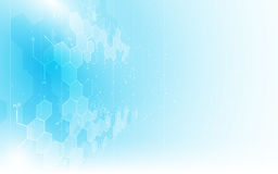 Предпосылка концепции дизайна структуры химии формулы картины текстуры абстрактной науки чистая иллюстрация вектора