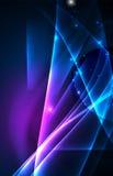 Предпосылка концепции приполюсных светов вектора Стоковое Фото
