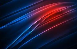 Предпосылка концепции приполюсных светов вектора Стоковая Фотография
