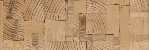Предпосылка - концы деревянных балок, склеенной панели мебели Стоковая Фотография RF
