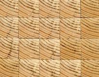 Предпосылка - концы деревянных балок, склеенной панели мебели Стоковые Фото