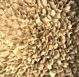 Предпосылка - коричневая сеть Иллюстрация штока