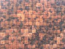 Предпосылка коричневой текстуры на стене стоковая фотография rf