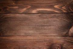 Предпосылка коричневых старых естественных деревянных планок текстуры Стоковая Фотография RF