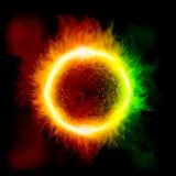 Предпосылка космоса с звездой Стоковое фото RF