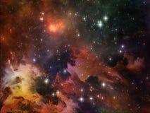 Предпосылка космоса Стоковое Фото